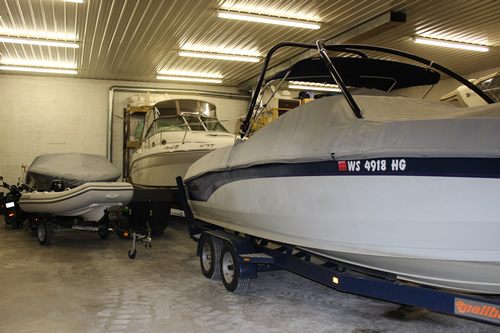Nothern Door Storage - Boats and Vehicles in Group Temperature Controlled Storage Unit in Door County